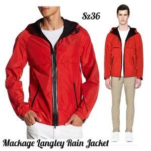 🎈Mackage Langkey Rain Jacket, NWT Sz 36